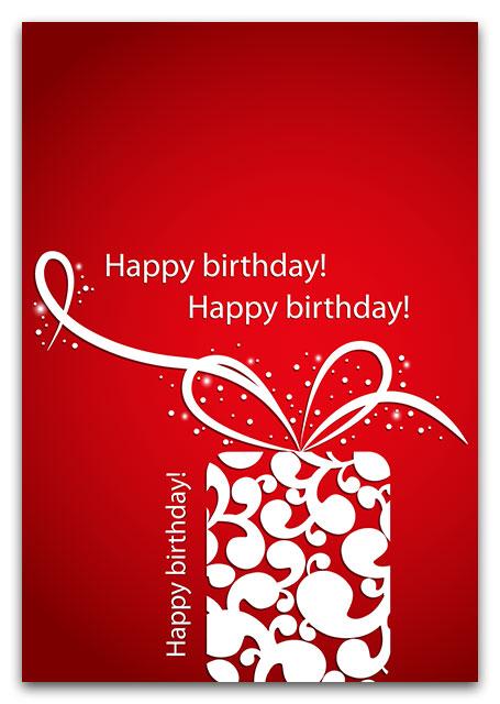 birthday cards - acidprint