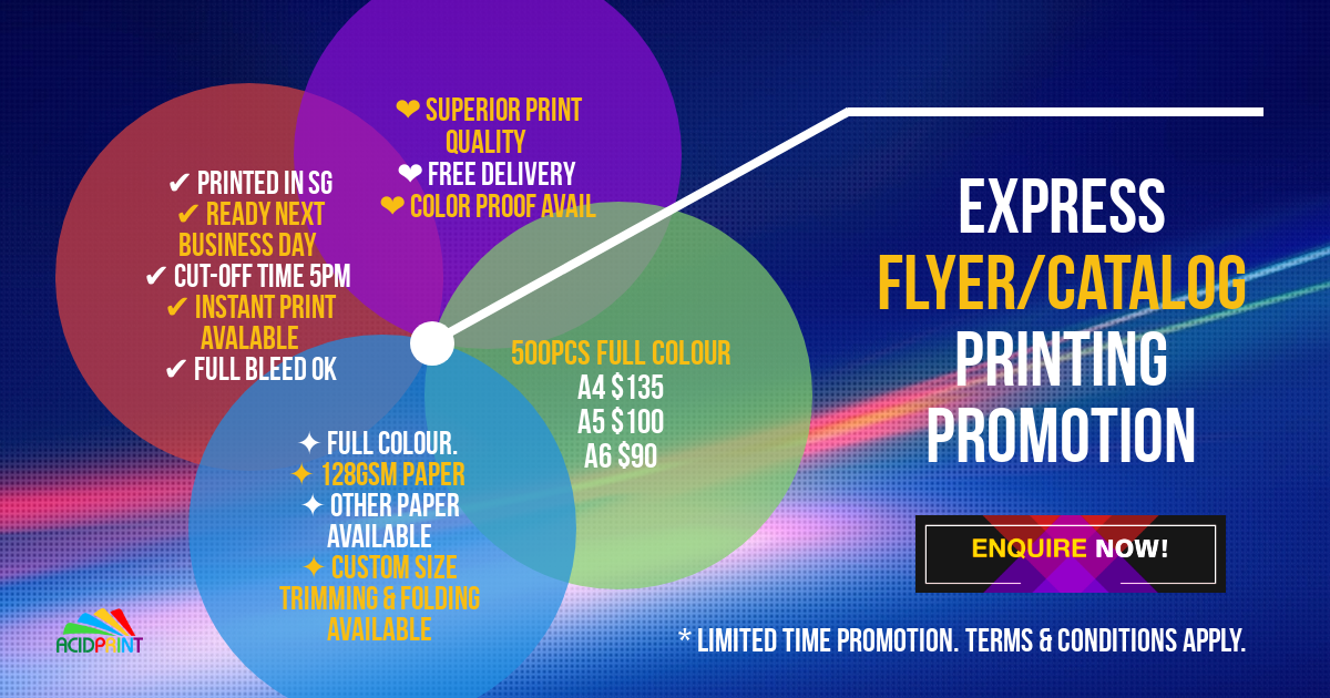 Express Flyer Promotion