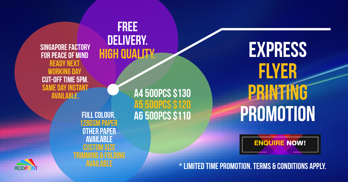 Express Flyer Printing Promotion